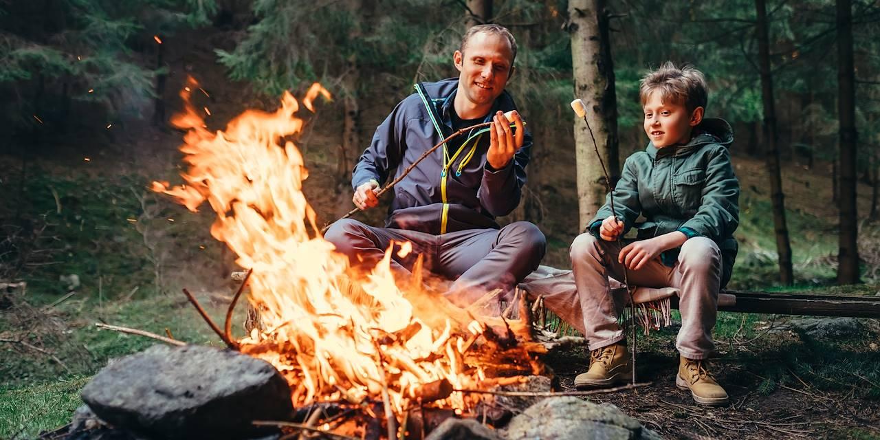 feu en milieu naturel